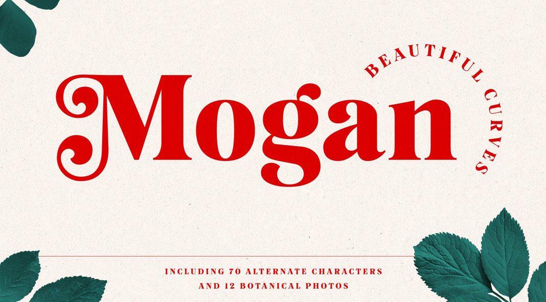 Mogan font by Tobias Saul