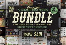 1100+ Premium Vintage Branding Vector Designs