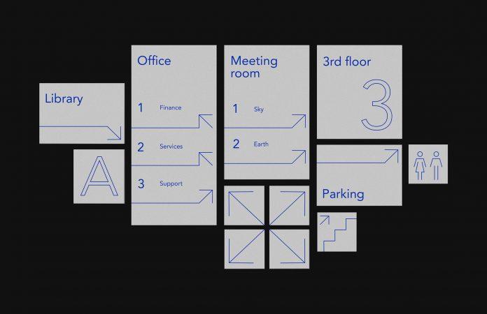 Signage wayfinding system