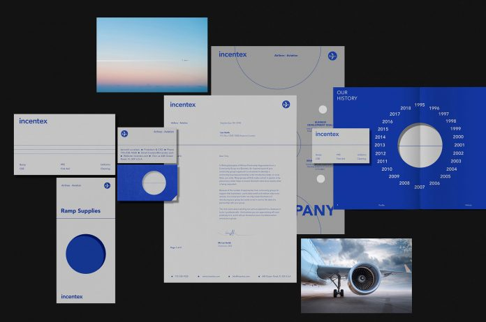 Graphic design and branding by agency Bratus for Incentex