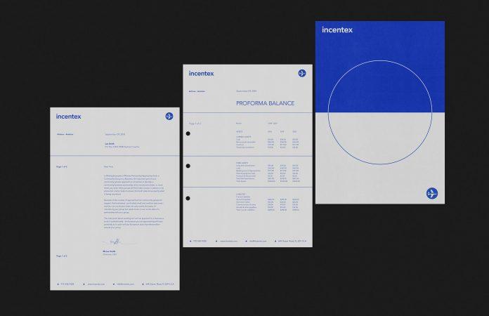 Letterhead and invoice design