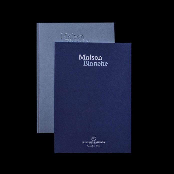 Maison Blanche branding and editorial design by OCIO Studio