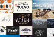 99 handmade fonts