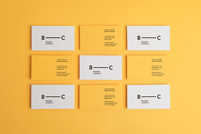 Branch Creative business cards by Noeeko