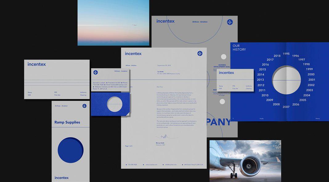 Incentex branding by graphic design studio Bratus