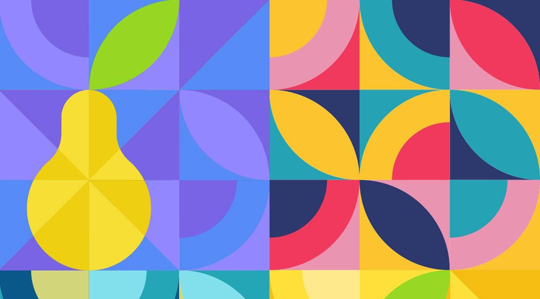 Organic Squares Patterns: 30 seamless vector graphics