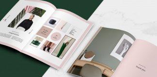 Portfolio and catalog template for Adobe InDesign.