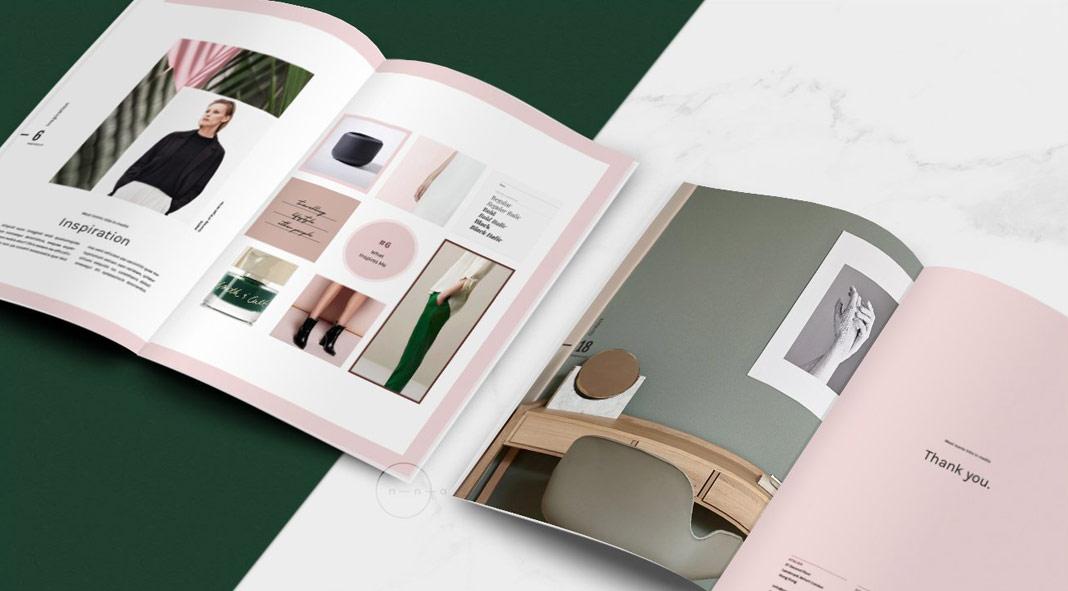 Adobe InDesign Portfolio and Catalog Template