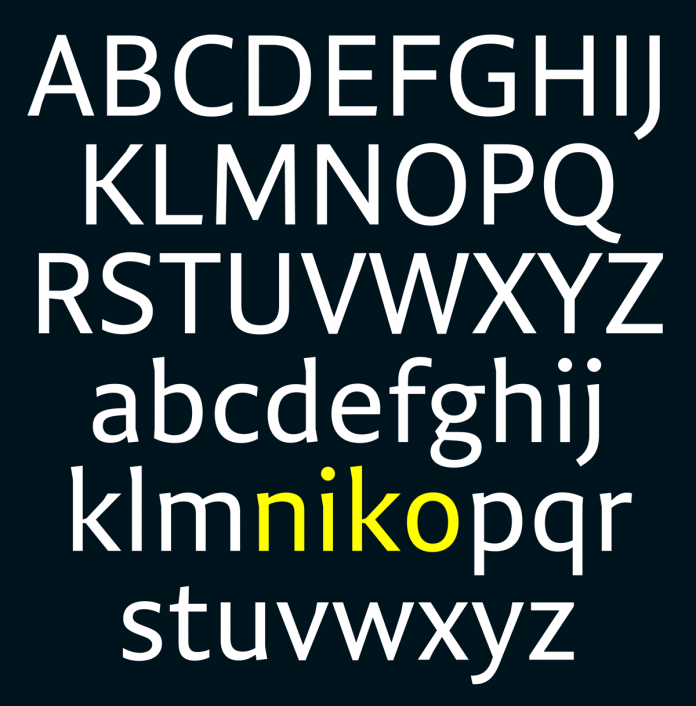 Niko Font Family from Ludwig Type