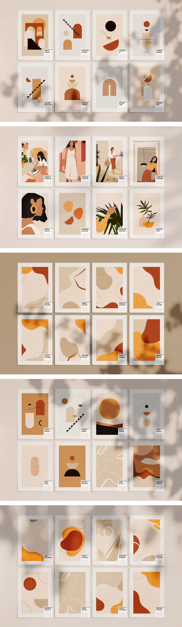 Abstract graphics designed by William Hansen.