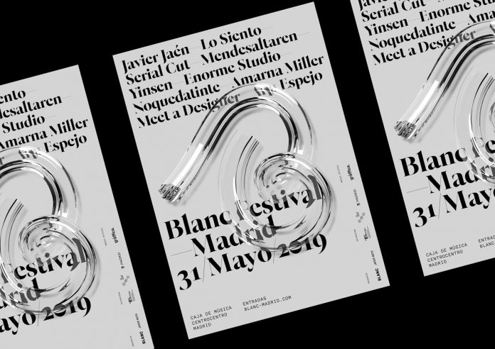 Blanc Festival 19 Identity by Stupendous Studio