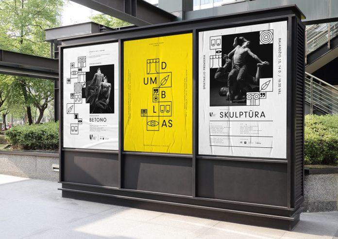 Šiauliai Drama Theater branding by Aivaras Bakanauskas.