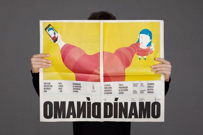 DÍNAMO publication—editorial design and illustration by Rubio & del Amo