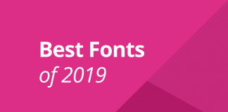 Best fonts of 2019