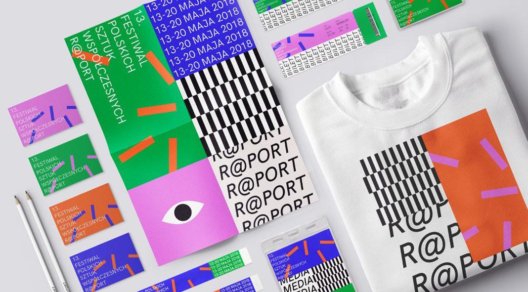 Contemporary arts festival - identity concept by Alkemia Studio