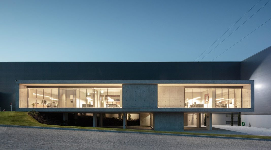 FACOL offices in Guimaraes designed by Ana Coelho