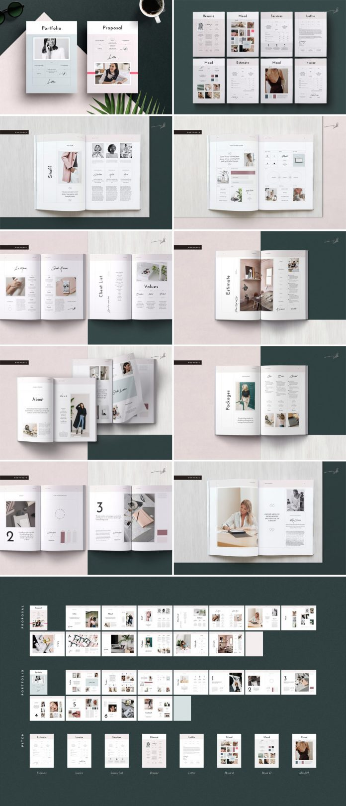 Pitch Pack Adobe InDesign Template from Studio Standard