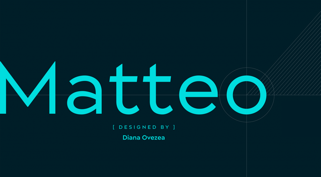 Matteo font family by Indian Type Foundry.