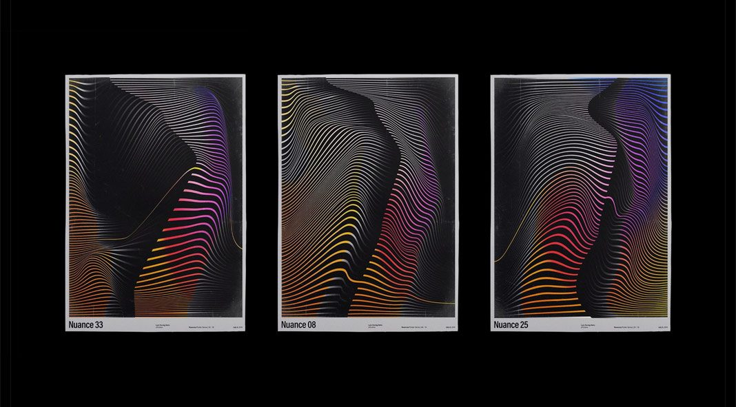 Nuance poster series by Tutano Design Studio