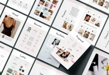 Lottie Adobe InDesign pitch pack template from Studio Standard.