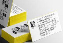 Theater brand identity design by Aivaras Bakanauskas