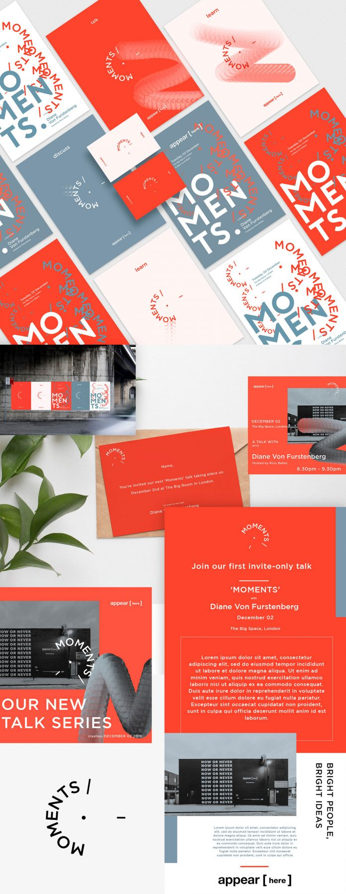 Branding & Graphic Design by NOANCE Studio for Moments