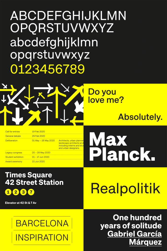 Approach font family by Emtype Foundry.