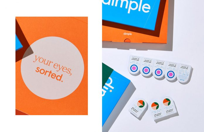Dimple—graphic design and branding by Universal Favourite