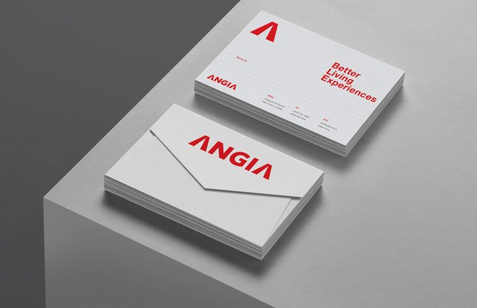 ANGIA graphic design and branding case study by Bratus.