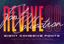 80s retro fonts