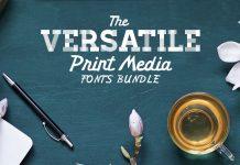 Download 127 Versatile Print Fonts