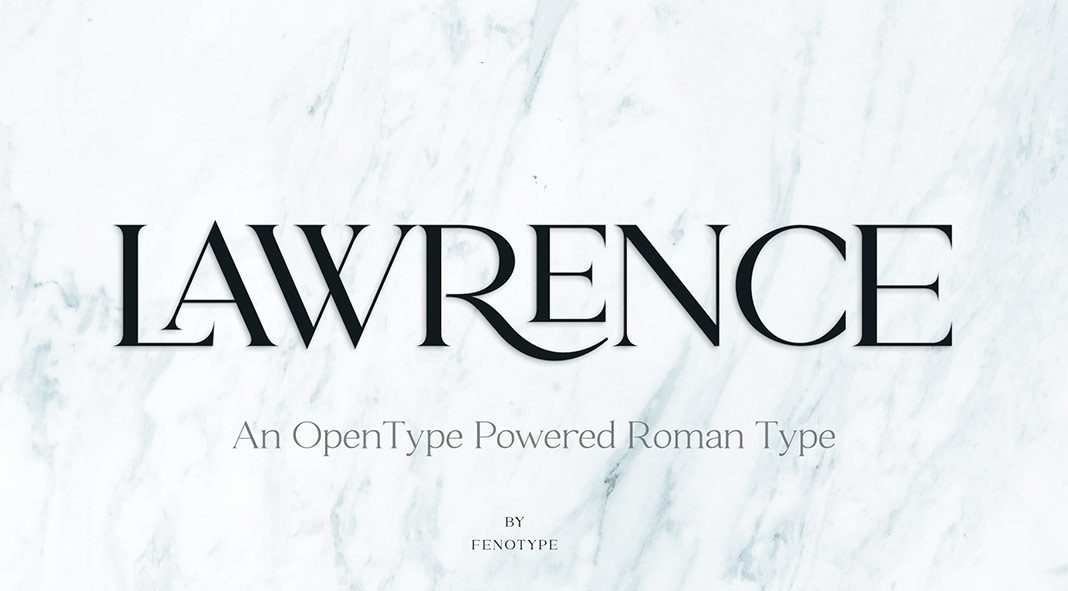 Lawrence Font Duo from Fenotype