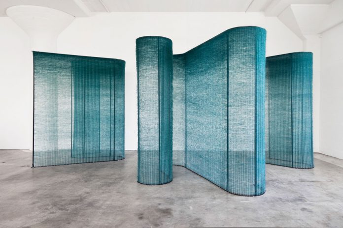 Mimi Jung, Four Teal Walls
