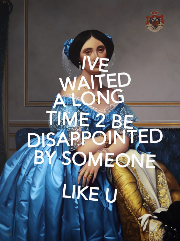 Paintings by Artist Shawn Huckins at Galerie Bessiéres