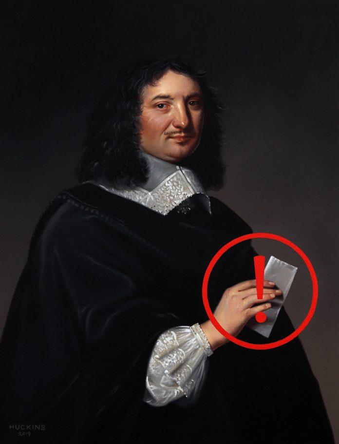 Portrait of Jean-Baptiste Champaigne, Panic Ten (Undelivered Message)