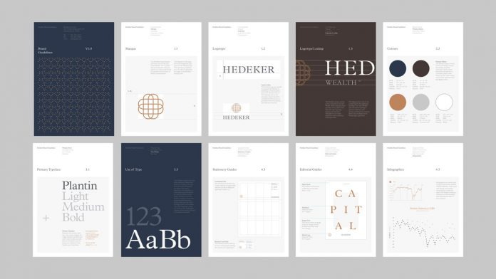 Graphic design, art direction, and branding by Socio Design for Hedeker
