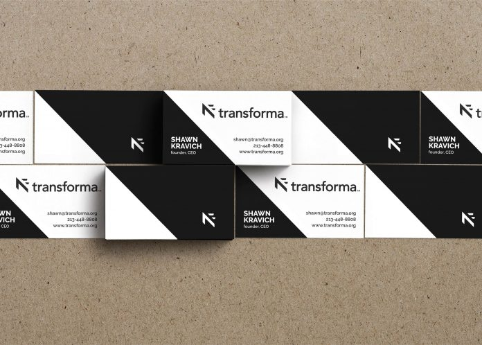 Transforma business cards