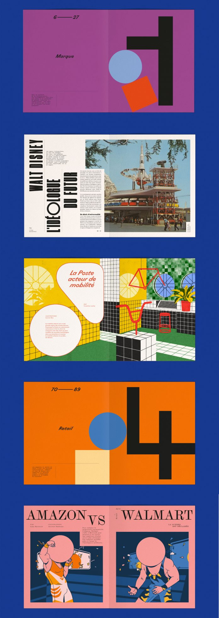 Yellow Vision vol. 3—graphic design, illustration, and editorial design by Violaine & Jeremy.