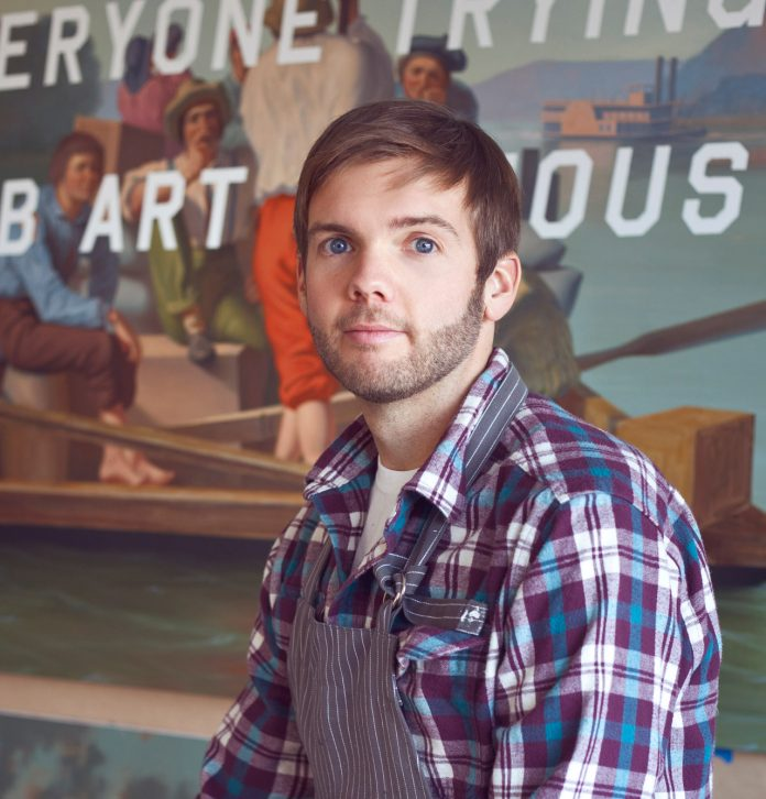 Artist Shawn Huckins