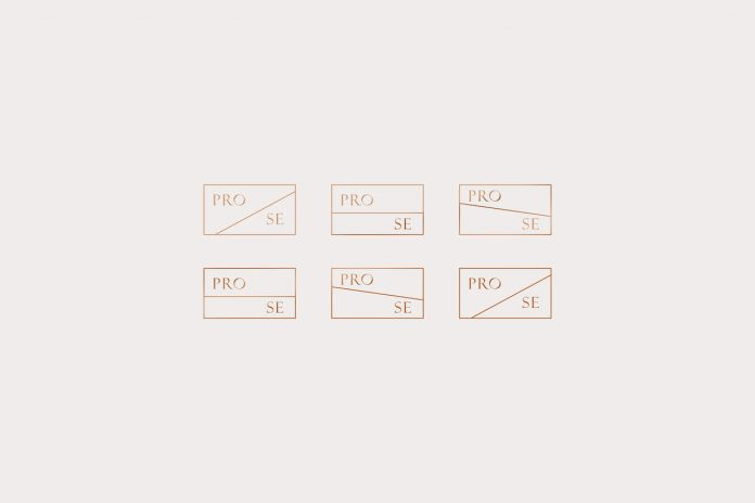 Prose—graphic design and branding by Anastasia Dunaeva