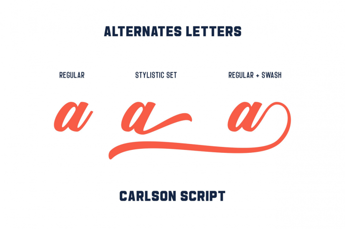 Carlson fonts from Alphabeta.