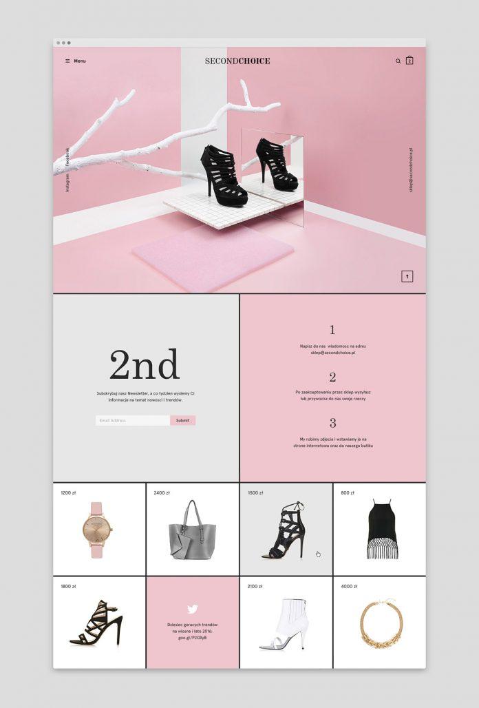 Second Choice store branding by Noeeko Studio