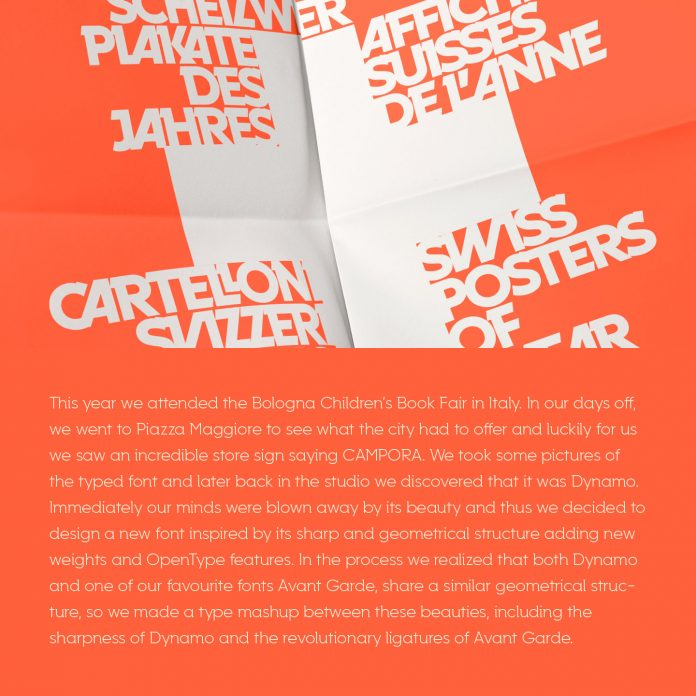 Campora font family from W Foundry