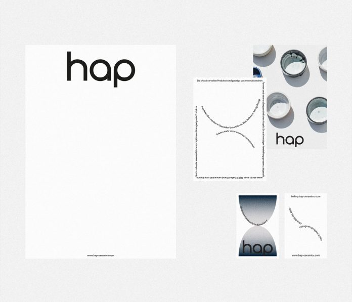 Graphic design and branding by studio Abracradama for Hap Ceramics