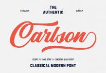 Carlson fonts from Alphabeta.