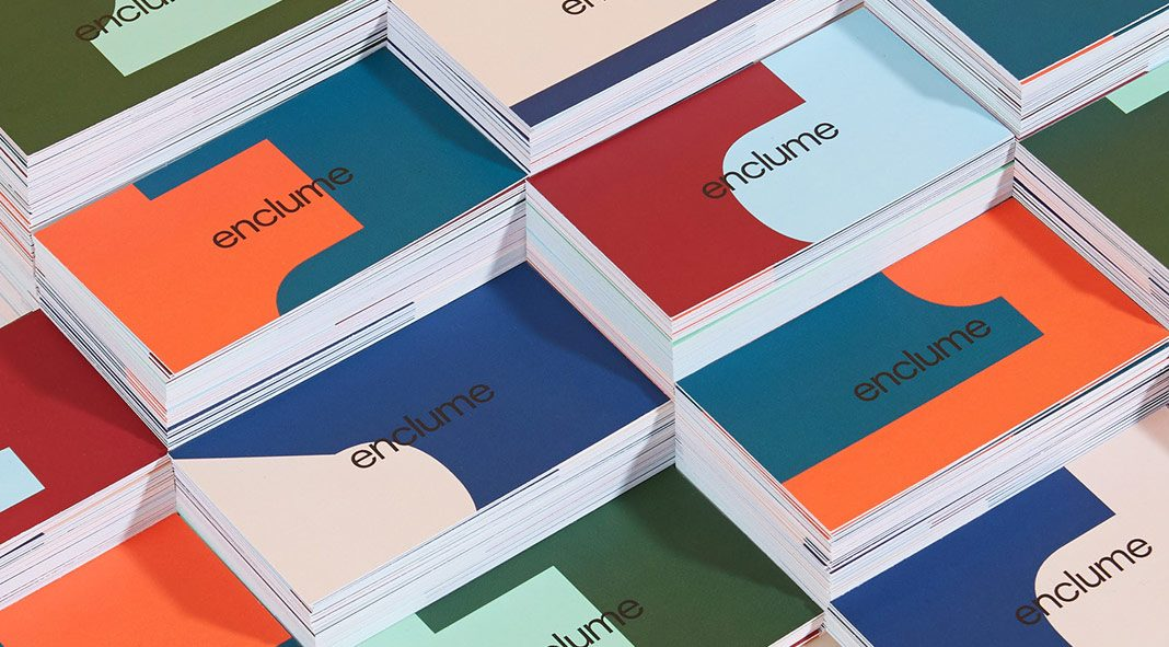 Enclume re-branding and graphic design by Demande Spéciale