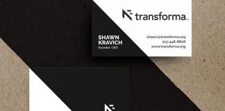 Graphic design and branding by Riser for Transforma