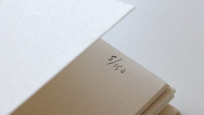 Mark + Fold: custom stationery in limited editions.