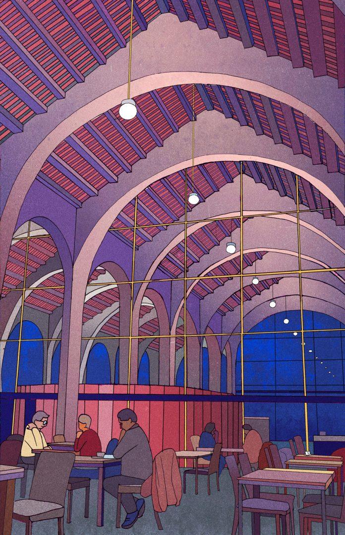 Museu Maritim, Barcelona - illustration by Emma Roulette