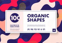 Organic Shapes: 100 seamless patterns collection by Arseny Samolevsky